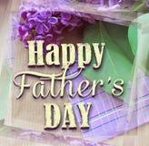 Schöne purpurrote Flieder und Bindung für den Vatertag glückliches neues Jahr 2007 Hintergrund des abstrakten Begriffs für Vatert Stockbild