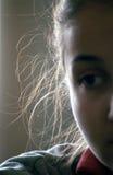 Schöne Reflexion auf Haar Lizenzfreies Stockfoto