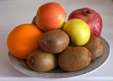 Schöne reife Apfelfrucht Lizenzfreies Stockbild