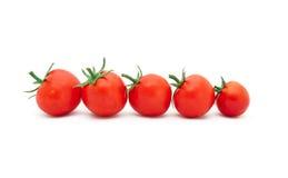 Schöne reife Tomaten Stockbild