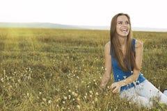 Schöne reizvolle Frau lizenzfreie stockfotografie