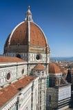 Schöne Renaissancekathedrale in Florenz, Italien stockfoto