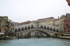 Schöne Rialto-Brücke Stockfoto