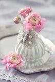 Schöne rosa Blumen Stockbilder