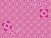 Schöne rosa Blumenkunstnatur Cdr-Motivtapete Lizenzfreies Stockbild