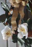 Schöne rosafarbene Magnolie-Blumen Stockfoto
