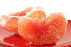 Schöne rote Pampelmuse, schauen frisch und, Pampelmuse geschmackvoll, die geschmackvolle Frucht, hohes Vitamin C, viele Mineralie stockfotos