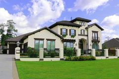 Schöne südliche Häuser Lizenzfreies Stockfoto