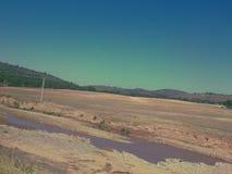 Schöne Sahara-Ansicht Stockbilder