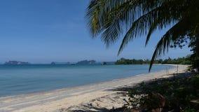 Schöne Sandstrände in Thailand stockbild