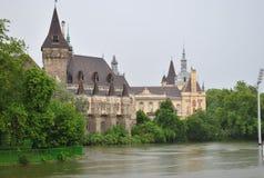schöne Schloss Geschichtsgeheimnisgeschichte Lizenzfreies Stockfoto