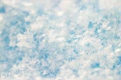 Schöne Schneebeschaffenheit lizenzfreie stockfotos