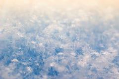 Schöne Schneebeschaffenheit lizenzfreies stockbild