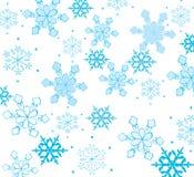 Schöne Schneeflocken Stockfotografie