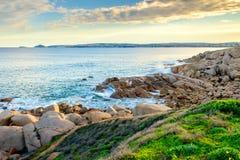 Schöne See-Ansicht am Hafen Eliot, Süd-Australien Stockbild