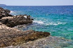 Schöne Seeansicht Stockfotografie