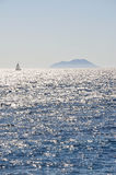 Schöne Seeansicht Stockfoto