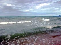schöne Seeansicht lizenzfreies stockfoto