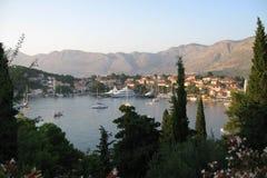 Schöne Seeansicht Dubrovniks Kroatien Stockfotos