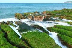 Schöne Seeküste Lizenzfreies Stockbild