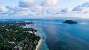 Schöne Seelandschaft Lizenzfreies Stockfoto