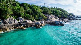Schöne Seelandschaft Stockbilder