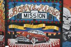 Schöne sehr kreative Wandgemälde der Fanfaren-Gasse sehr, 32 lizenzfreie stockfotografie