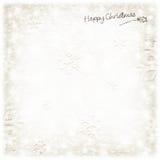 Schöne silberne Weihnachtskarte Stockbilder