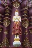 Schöne Skulptur in Chiang Mai, Thailand Lizenzfreie Stockfotografie