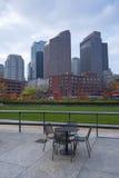 Schöne Skyline von Boston Stockfotografie