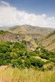 Schöne Sommerlandschaft, in Garni, Armenien stockbilder