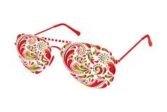 Schöne Sonnenbrillen Lizenzfreie Stockfotos