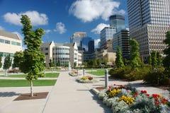Schöne städtische Umgebung Stockbilder