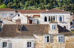 Schöne Stadt Hvar, Hvar-Insel, Kroatien lizenzfreie stockfotos