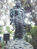 Schöne Statue des Gottes Stockbild