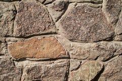 Schöne Steinwand Stockbild