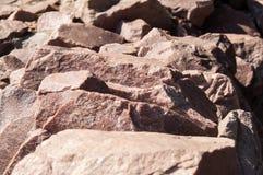 Schöne Steinwand Stockfotos