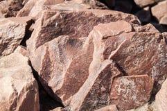 Schöne Steinwand Stockbilder