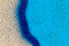 Schöne Straßenkunstgraffiti Abstrakte kreative Farben Stockbild