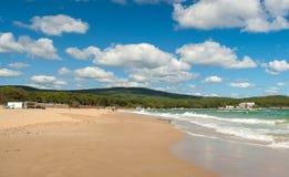 Schöne Strand Dünen auf dem Schwarzen Meer in Bulgarien nahe Sozopol lizenzfreies stockfoto