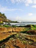 Schöne Strandlandschaft Stockfoto