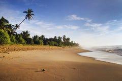 Schöne Strandlandschaft Stockfotos