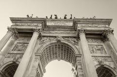 Schöne Struktur von ACRO-della Schritt in Mailand Stockfotos