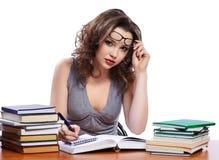 Schöne Studentin Lizenzfreie Stockfotos