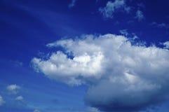 Schöne Sturmwolken Lizenzfreies Stockbild