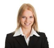 Schöne sucessful Geschäftsfrau Stockfoto