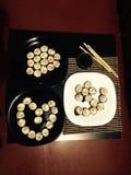 Schöne Sushi lizenzfreie stockfotos