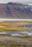 Schöne szenische Ansicht von Spitzbergen (Svalbard-Insel), Norwegen Stockfotografie