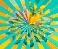 Schöne Tapeten-Auslegung Bunte Beschaffenheit und Hintergrund Modernes Digital-Grafikdesign Multi reiche farbige Grafik vektor abbildung