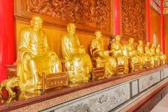 Schöne Tempelwolke Thailand-Porzellans Stockbilder